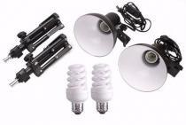 Kit Iluminação Para Mini Estudio Fotografia De Produtos Still PKL45 110v - Greika