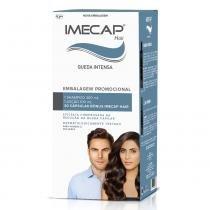Kit Imecap Hair Queda Intensa Shampoo 300ml + Loção 100ml + 30 Cápsulas -