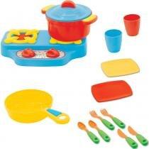 Kit Infantil para Cozinha com 16 Peças Coloridas 1026 - Maral - Maral