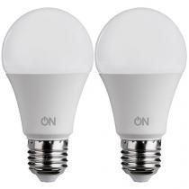 Kit Lâmpadas LED 2 Unidades 7W 6500K Branca - ON Eletrônicos Lâmpada ONE LED Bulbo A60
