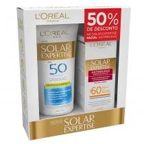 Kit LOréal Paris Solar Expertise Supreme Protect 4 FPS 50 + Solar Expertise Antirrugas FPS 60 - LOréal Paris