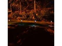 Kit Luminárias Solares LED 0,7W Luz Branca - Ecoforce 11315