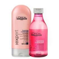 Kit Lumino Contrast LOréal Professionnel Shampoo 250ml e Condicionador 150ml - Loreal