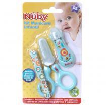 Kit Manicure Infantil Azul Céu - ÚNICO - NUBY