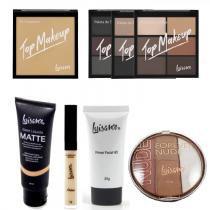 Kit Maquiagem Luisance Top Makeup -
