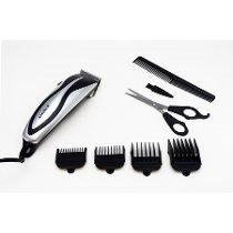Kit maquina para cortar e aparar cabelo e barba profissional eterny 220v - Gimp