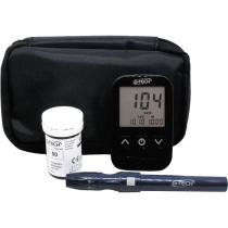 Kit Medidor de Glicose com Lancetador e Estojo G-Tech Free Lite -