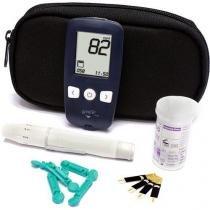 Kit Medidor de Glicose G-Tech Free 1 MGKTFR1 com Sistema No Code -