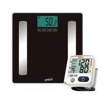 Kit Medidos de Pressão LP200 + Balança de Bioimpedância - G-tech