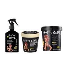 Kit Morte Súbita Lola Cosmetics Shampoo 250g, Máscara 450g e Spray Reparação Total 250ml - Lola Cosmetics