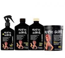 Kit Morte Súbita Máscara 450g, Condicionador 250g, Shampoo e Spray 250ml Lola Cosmetics - Lola Cosmetics