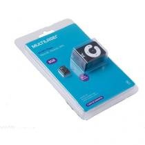 Kit Mp3 Player - Micro SD 8GB - Função Pendrive - Mc300 - Multilaser -