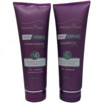 Kit Nano Platinum Magnific Hair Shampoo e Condicionador 250ml - Magnific Hair