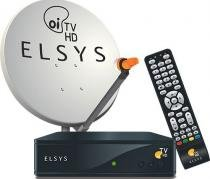 Kit Oi TV Livre Digital HD Completo Para Instalação ( 1 Antena com 4 Receptores) - Elsys -