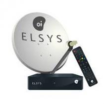 Kit Oi TV Livre Digital HD Completo Para Instalação (Antena 75 cm) - Elsys -