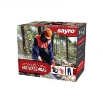 Kit operador motosserra 3 peças sayro - Sayro
