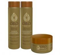 Kit Oro Therapy 24K NatuMaxx Máscara 300g, Shampoo e Condicionador 300ml - Natumaxx