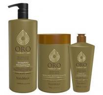 Kit Oro Therapy 24K NatuMaxx Shampoo 1L, Máscara 1Kg e Leave-in 300ml - Natumaxx