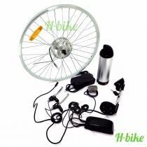 Kit para Bicicleta Elétrica com Bateria de Lítium 250W - H-Bike