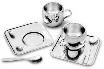 Kit para Café - Aço Inox - Ø6cm - 0,08L - 6 Peças - TRAMONTINA - Tramontina