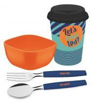 Kit Para Café da Manhã 4 Peças Breakfast Tramontina 29899040 -