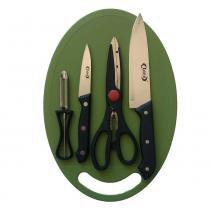 Kit para Churrasco com 4 Peças 799KC Idea -