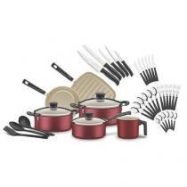 Kit Para Cozinha Antiaderente 38 Peças- Tramontina -