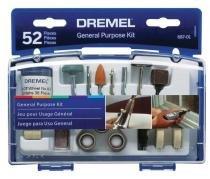 Kit para Uso Geral c/ 52 Peças 687 - DREMEL - Dremel