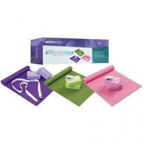 Kit para Yoga/Pilates com 4 Peças - Mor - 40100011