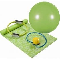 Kit para Yoga/Pilates com 4 Peças Verde Mor - Mor