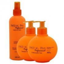 Kit Petit K.Pro Shampoo 240ml Condicionador 230g e Leave-in 200ml - k.Pro