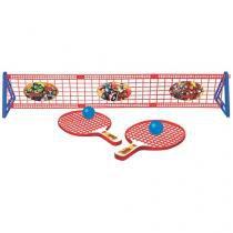 Kit Ping Pong/Tênis de Mesa Marvel Avengers  - 5 Peças Lider Brinquedos