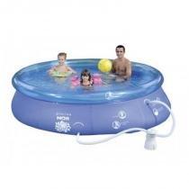 Kit Piscina Splash Fun 4600 Litros + Acessórios - Mor - Mor