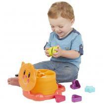 Kit Playskool - Gatinho com Formas de Encaixe e Barris de Encaixe - Hasbro - Hasbro