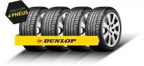 Kit Pneu Aro 17 - 225/45R17 94W DZ102 Dunlop 4 Peças -