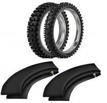 Kit pneu honda crf230 100/90-19 + 80/100-21 rmx 35 extreme rinaldi - Rinaldi