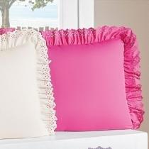Kit Porta Travesseiro Padrão Anabelle 02 Peças - Pink - Sulamita enxovais