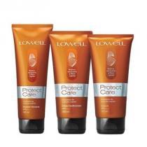 Kit Protect Care  Lowell Shampoo 240ml, Condicionador 200ml e Leave-in 180ml - Lowell