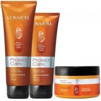 Kit Protect Care Lowell Shampoo 240ml, Condicionador 200ml e Máscara 240g - Lowell