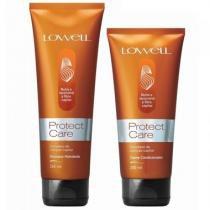 Kit Protect Care Lowell Shampoo 240ml e Condicionador 200ml - Lowell