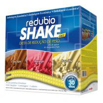 Kit Redubio Shake 3 Sabores Baunilha, Chocolate e Morango - REDUBIO