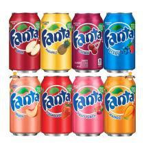 Kit refrigerantes fanta 8 unidades 355ml -