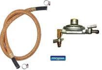 Kit regulador de gás aliança horizontal + mang 5 m 6478 - Fritania