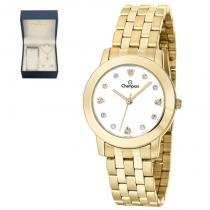 Kit Relógio Champion Feminino Ch26711w -