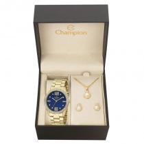 Kit Relógio Champion Feminino Passion - CH24606K - Magnum
