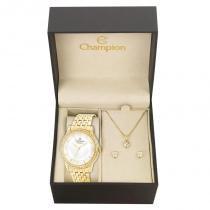 Kit Relógio Champion Feminino Passion - CN27947H - Magnum