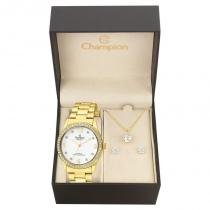 Kit Relógio Champion Feminino Passion - CN28893W - Magnum