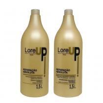 Kit Restauração Intensa LoreUp Shampoo e Condicionador 1,5L - Lore Up