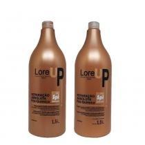 Kit Restauração Intensa Pós Química LoreUp Shampoo e Condicionador 1,5L - Lore Up