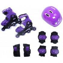 Kit rollers radical completo p (30-33) belfix 365100 roxo - Belfix